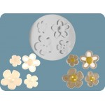 FPC Mold Flower Buttons