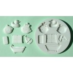 Alphabet Mould Bathtime