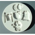 Alphabet Mould Baby Girl