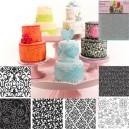 Texture Mat Floral Set/6