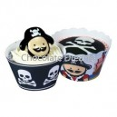 Cupcake Wraps Pirate