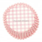 Culpitt Baking Cups Gingham Pink