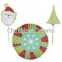 Snowflake Wishes Partypack Baking Cups