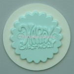 Alphabet Mould Cupcake Topper Happy Birthday
