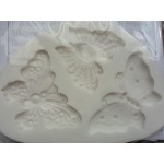 FPC Mold Filigree Butterflies