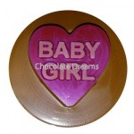 Cookie Chocolate Mold Baby Girl