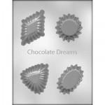 Chocoladevorm Dessert Cup Ass