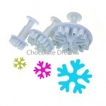 Plunger Cutters Snowflake Set/3