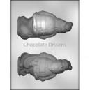 Chocoladevorm 3D Kerstman