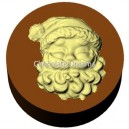 Cookie Chocolate Mold Santa