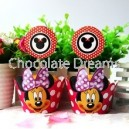 Cupcakewrappers/Toppers Minnie Mouse