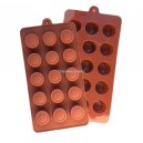 Siliconen Chocolate Mold Round