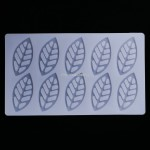 Siliconen Decoration Mold Leaf