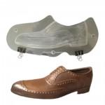 Plastic Chocoladevorm 3D Men Shoe