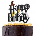 Harry Potter Happy Birthday Caketopper