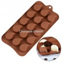 Siliconen Chocolate Mold Druppel