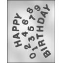 Chocoladevorm Happy Birthday 90-12111